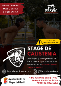 Calistenia - STAGE de RESISTENCIA en GRANADA